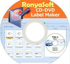 RonyaSoft CD DVD Label Maker 2021 Crack